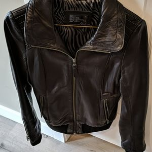 Mackage made for Aritzia leather jacket